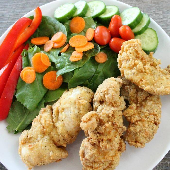 Looking for something a little different for dinner tonight?? Try this Gluten Free Chicken Tenders Recipe made with Almond Flour!