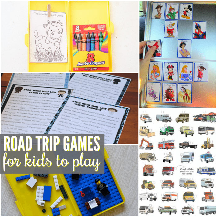 these awesome road trip games for kids to play in the car are perfect for long road trips