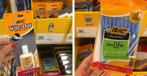 FREE Bic Back To School Supplies at Target and Walmart!