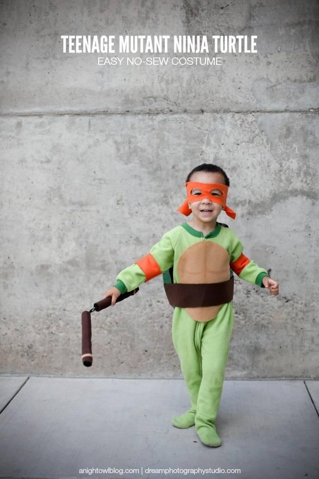 Kids Teenage Mutant Ninja Turtle Costume