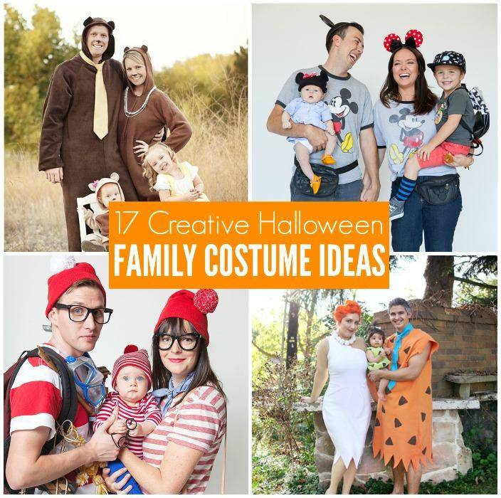 family halloween costume ideas including diy family halloween costumes group halloween costumes couple halloween costumes and store bought costumes - Creative Halloween Costume Idea