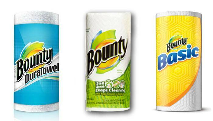 Printable Bounty Coupons for Paper Towels and Napkins