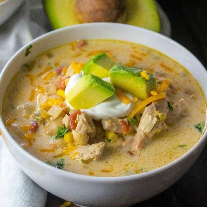 White Chicken Chili Crockpot Recipe!