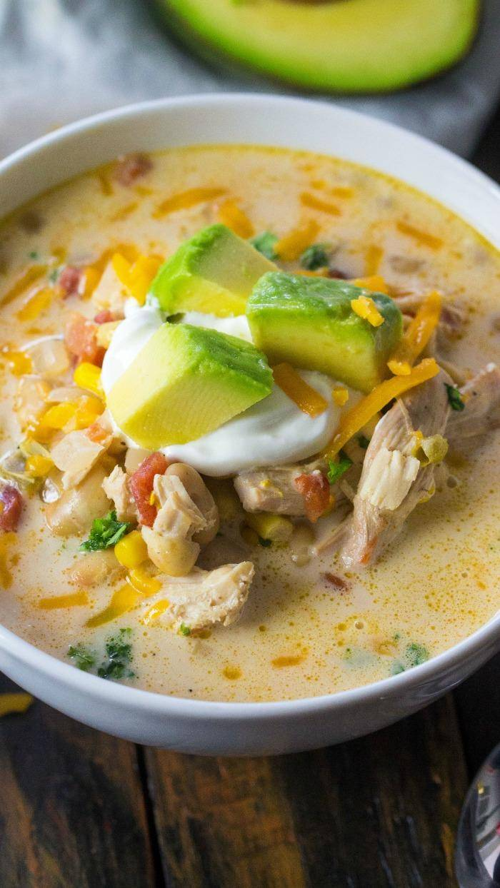 White Chicken Chili Crock Pot Recipe! An Easy Slow Cooker Dinner Idea for Families! The Perfect Game Day Crockpot Meal or Simple Holiday Party Recipes!