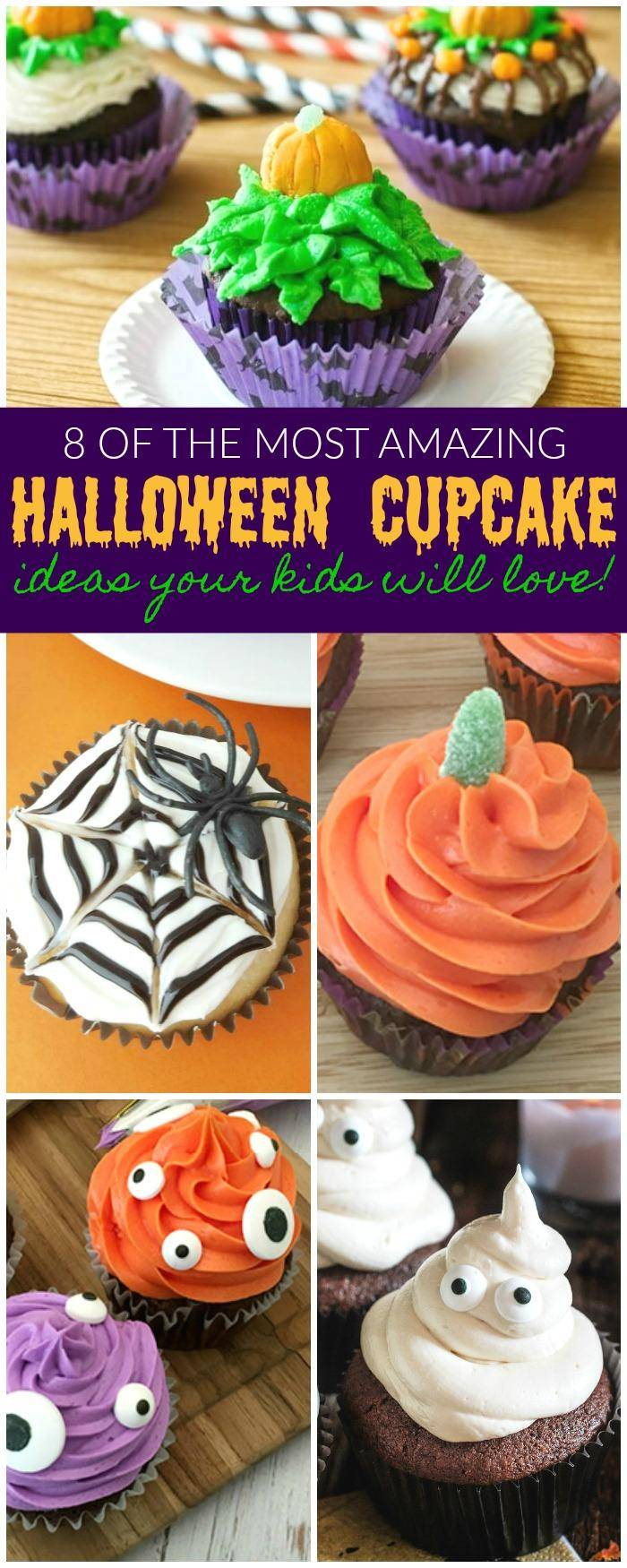 Halloween Cupcake Recipes to trick or treat anyone, plan your party with these Halloween Desserts for the best Kids Halloween Party