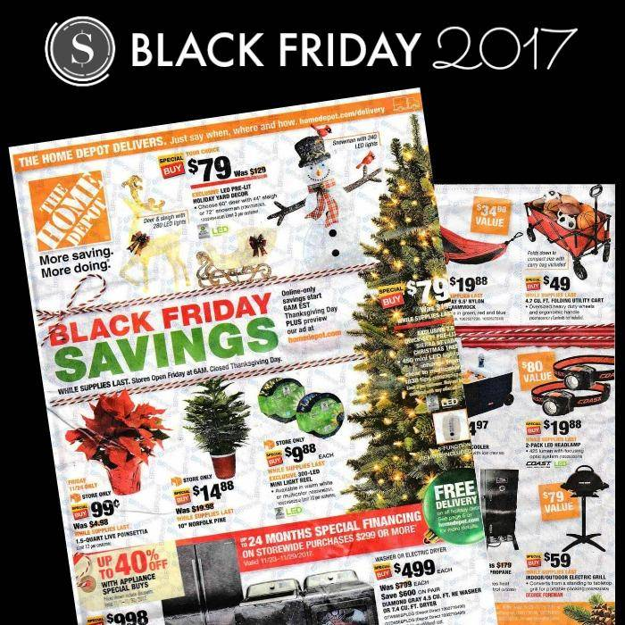 home depot black friday ad 2018 deals store hours amp ad