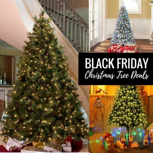 Best Black Friday Christmas Tree Deals Cyber Monday Sales 2017 - Best Deal On Pre Lit Christmas Trees