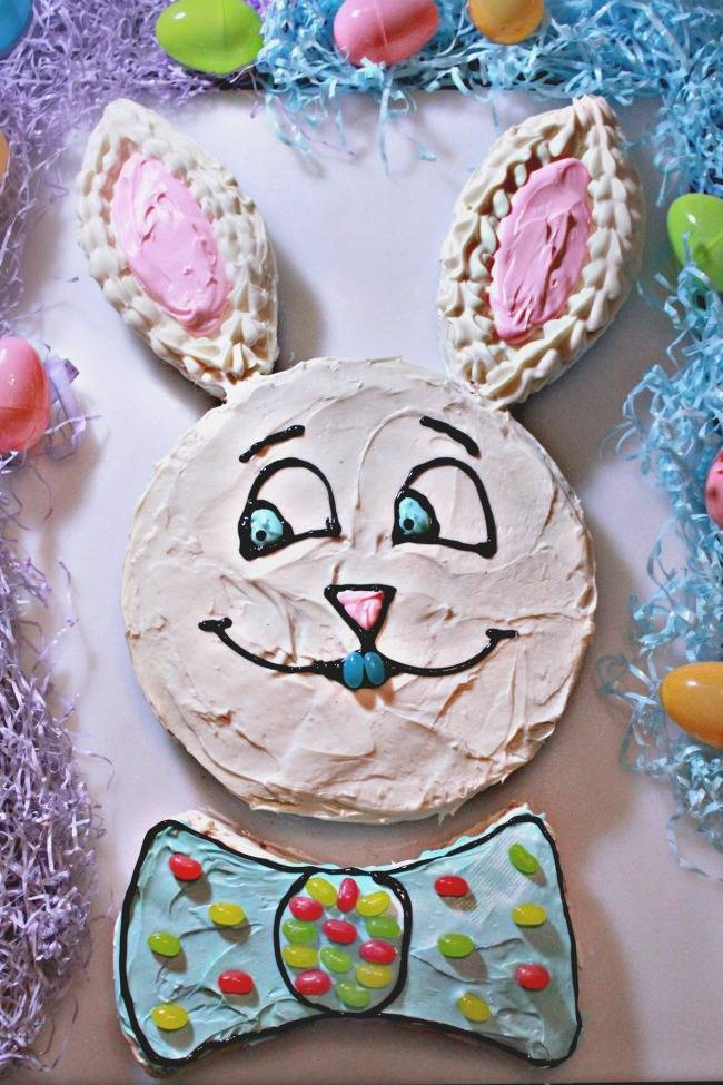 Easter Bunny Strawberry Easter Cakes