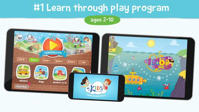 Kids Academy Talented & Gifted Best Educational Apps for Kids