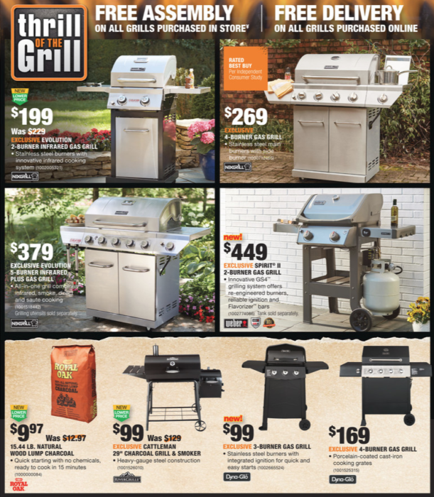 Home Depot Memorial Day Sale 2018 Deals On Grills Flowers Patio
