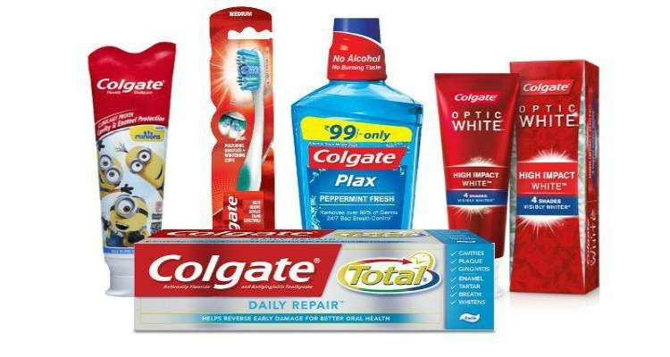 Printable Colgate Coupons for Toothpaste, Toothbrushes and Mouthwash