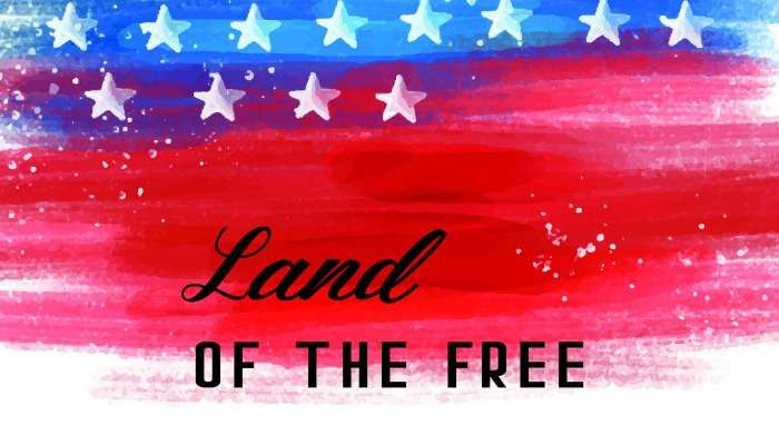 4th of July Wall Art Free Printable Featured