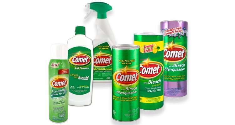 Printable Comet Coupons for Kitchen and Bathroom Cleaners