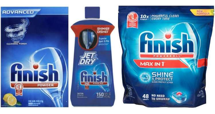Printable Finish Coupons for Dishwasher Detergent