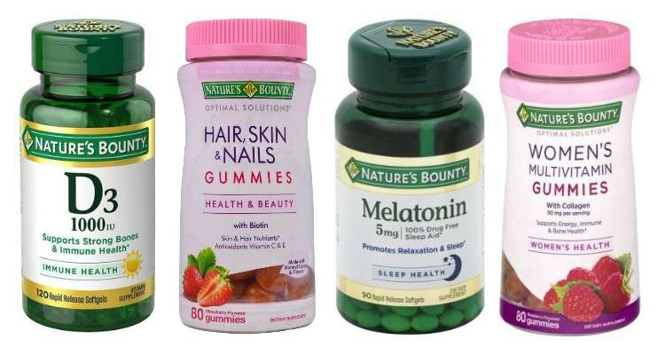 Printable Nature's Bounty Coupons for Vitamins and Supplements