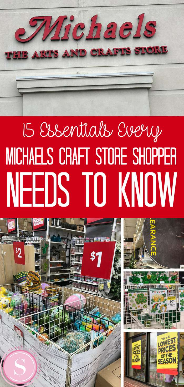 15 Essentials Every Michaels Craft Store Shopper Needs To Know