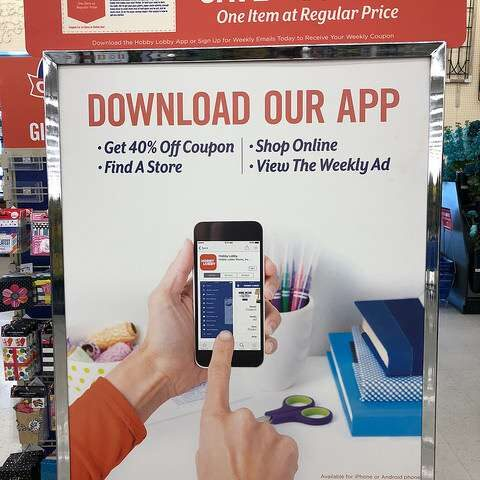 How To Get Hobby Lobby Coupons On My Phone
