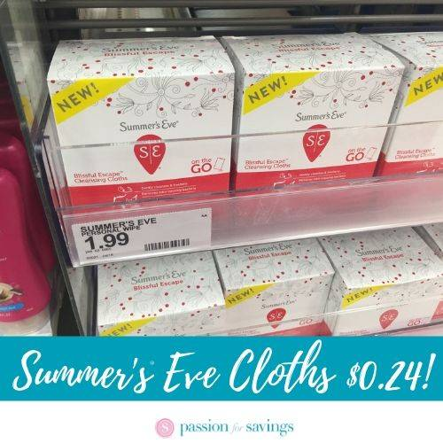 photo about Summers Eve Printable Coupons named Summers Eve Wipes Specifically $0.24 For every Box at Concentrate!