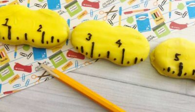 Adorable Ruler Cookies for Back to School