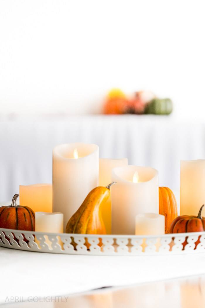 Thanksgiving Table Decoration - Stylish Thanksgiving Centerpiece
