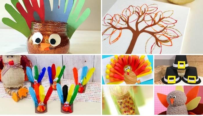 Thanksgiving Kid Decorations