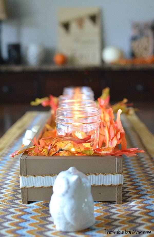 Thanksgiving Table Centerpiece - Table Runner
