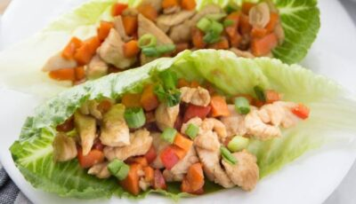 Copycat P.F. Chang Lettuce Wraps Recipe