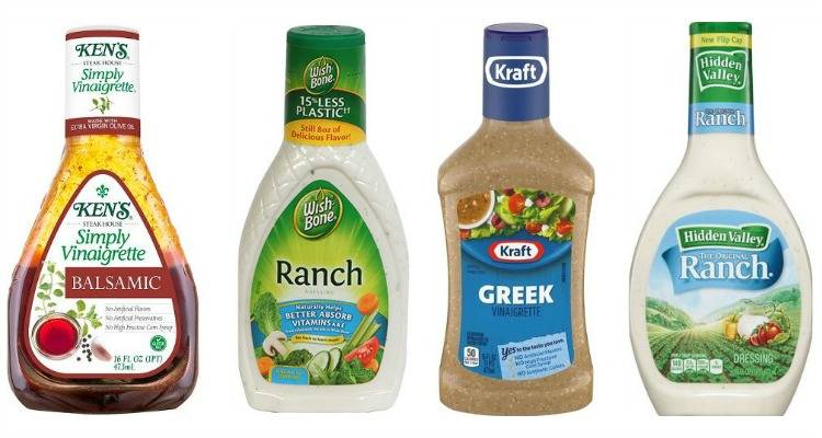 Printable Salad Dressing Coupons