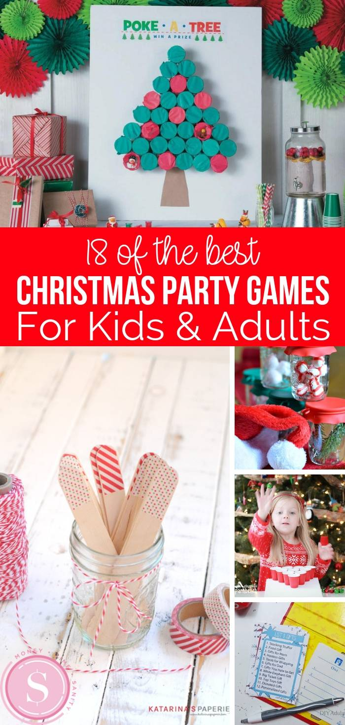 18 Fun Christmas Party Games for Kids