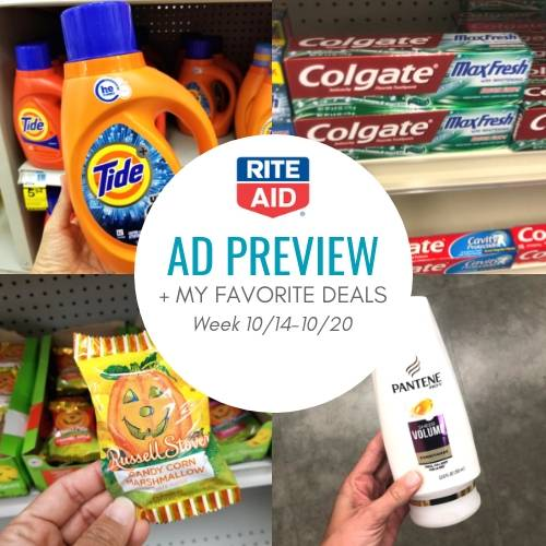 Rite Aid Stock Quote: Rite Aid Ad Preview & Shopping List For 10/14-10/20