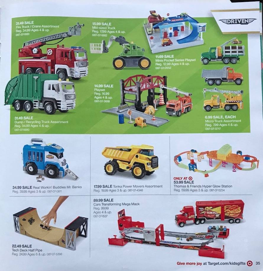Target Christmas Commercial 2018.Target Toy Book Ad Scans 2019 Hottest Toys For Christmas