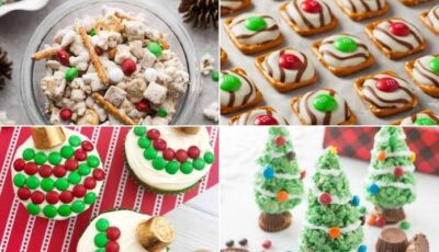 12 Sweet Christmas Snack Ideas For Kids!