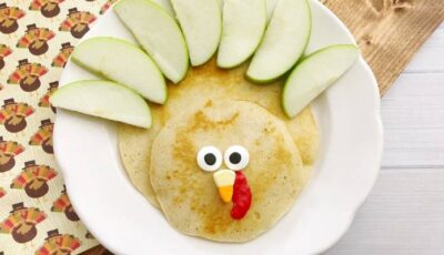 Kid Friendly Turkey Pancakes
