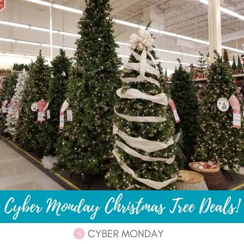 Best Black Friday Christmas Tree Deals & Cyber Monday Sales 2018! Check out the cheapest prices on pre-lit Christmas Trees for this year!