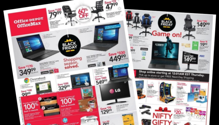 Office Depot Black Friday Ad 2020! FREE K-Cups & Batteries!