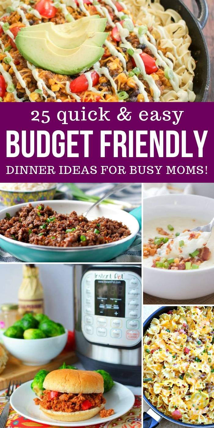 Budget Friendly Meal Ideas