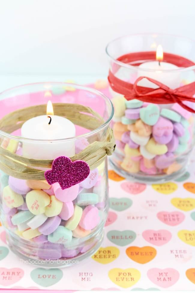 Votive Valentines Day Candle