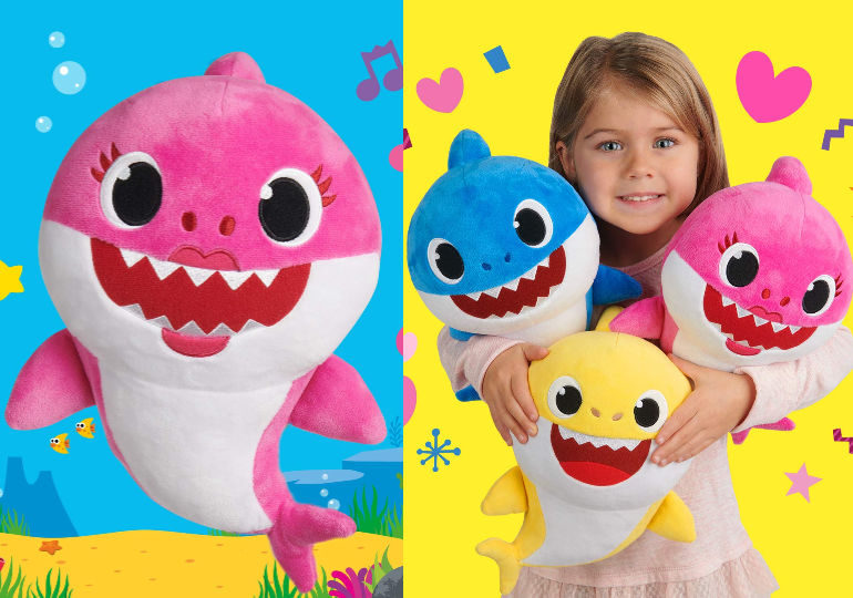 Pinkfong Baby Shark Song Plush Dolls In Stock