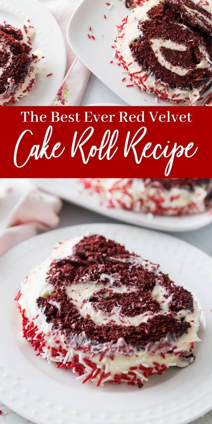How to Make a Red Velvet Cake Roll
