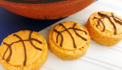 basketball shaped desserts