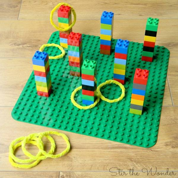 Lego activity for birthday party