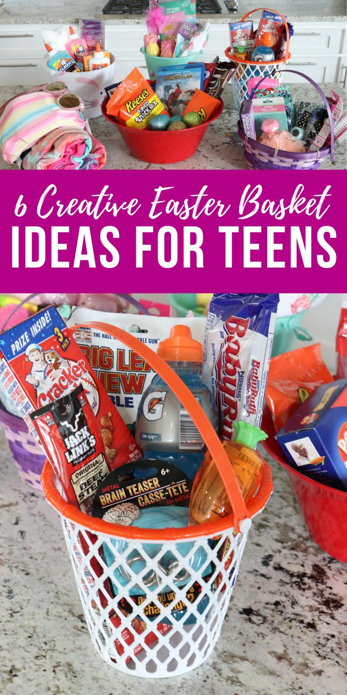 6 Brilliant Easter Basket Ideas For Teens From Walmart Dollar Tree