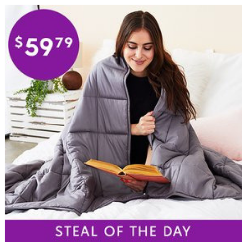 WEIGHTED BLANKET BLACK FRIDAY 2019