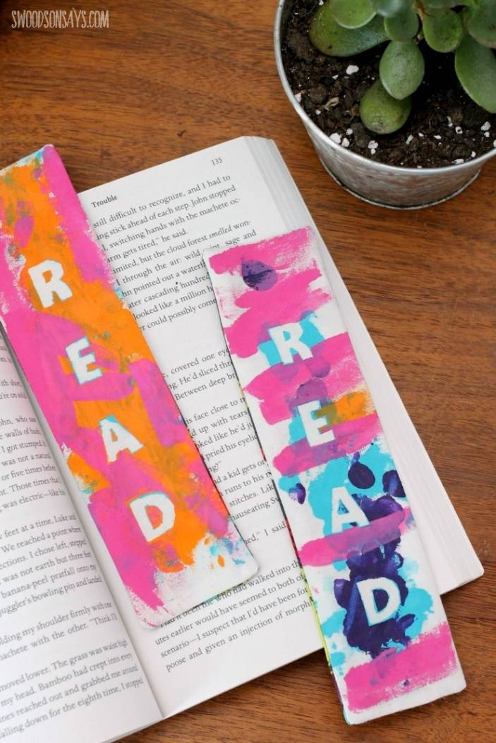 homemade bookmarks for mother's day gift