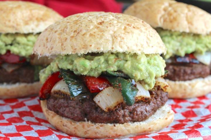 grilled burger recipe