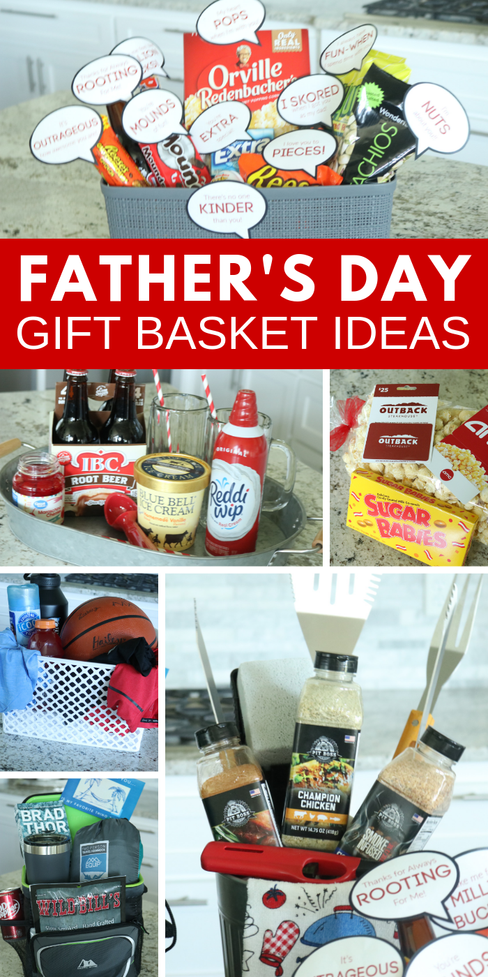 Fathers day gift basket ideas