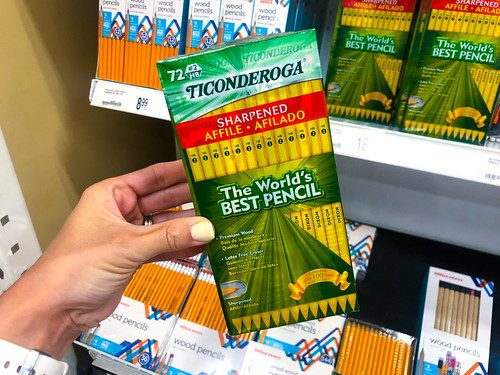 Ticonderoga #2 Pre-sharpened Pencils, Yellow