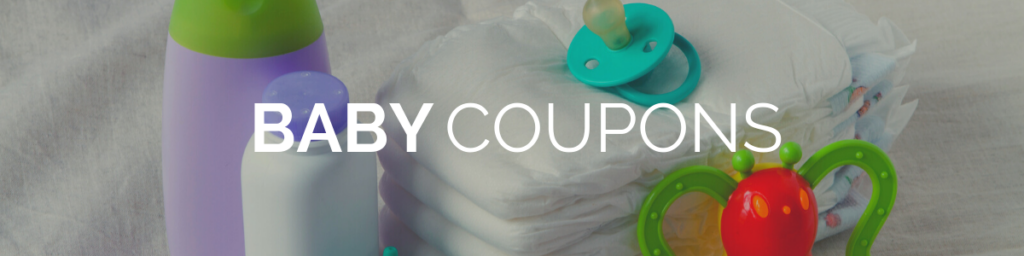 baby items with the word baby coupons on image