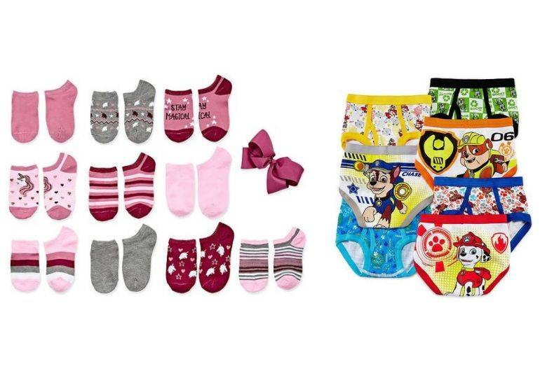 underwear and socks featured