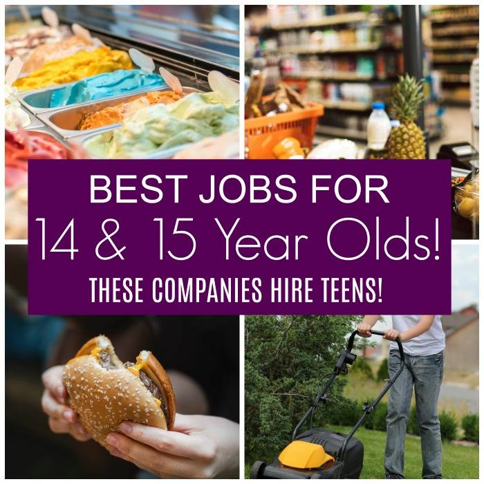 Best Jobs For 14 15 Year Olds These Companies Hire Teens Passion For Savings